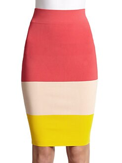 Ted Baker - Colorblock Body-Con Skirt