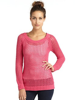 Torn - Helen Mesh Sweater