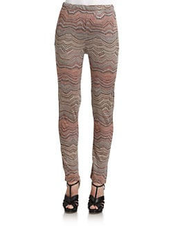 Surface To Air - Zigzag Knit Pants