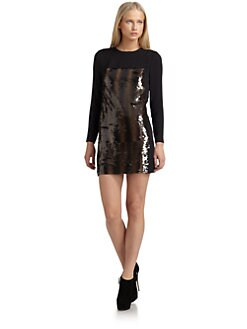 Surface To Air - Sequin Sheath Dress