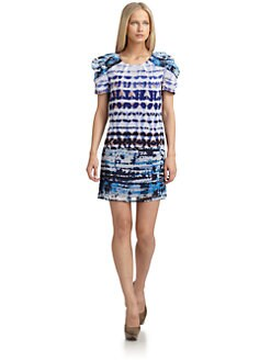 W118 by Walter Baker - Connie Mixed Print Dress