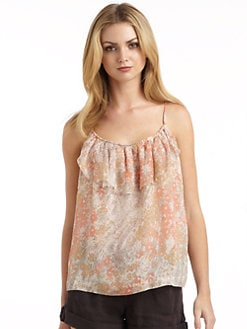 Joie - Nya Silk Chiffon Floral Tank