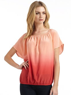 Joie - Silk Ombre Blouse