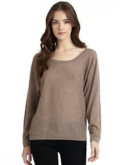 Feel The Piece - Fame Cashmere Dolman Sweater