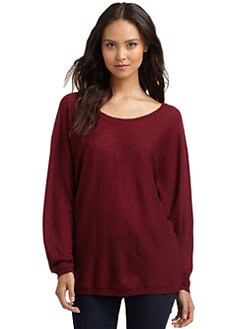 Feel The Piece - V-Back Cashmere Dolman Sweater