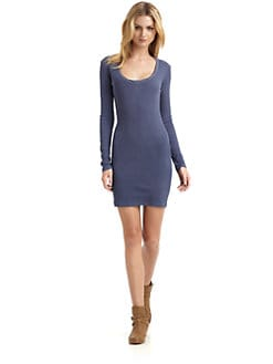 James Perse - Ribbed Mini Dress