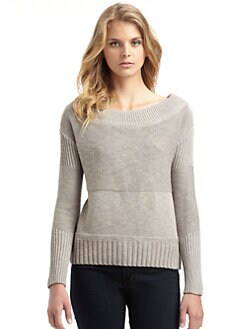 James Perse - Off-the-Shoulder Sweater