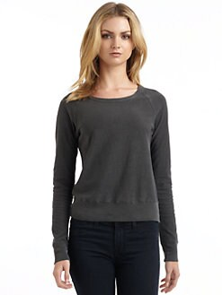 James Perse - Cotton Raglan Sweater