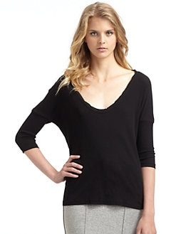 James Perse - Ribbed Dolman Top