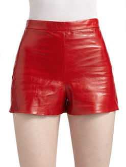 Alice + Olivia - Leather Shorts
