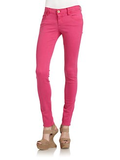 Alice + Olivia - Skinny Jeans/Pink