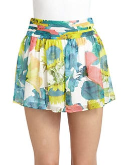 Alice + Olivia - Kayla Floral Mini Skirt