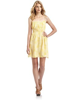 Cynthia Steffe - Sabina Smocked Chiffon Dress