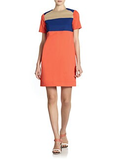10 Crosby Derek Lam - Colorblock Shift Dress