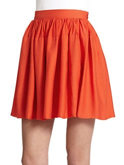 10 Crosby Derek Lam - Gathered Silk Skirt