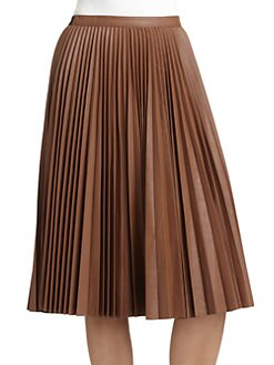 BCBGMAXAZRIA - Elisa Pleated Skirt