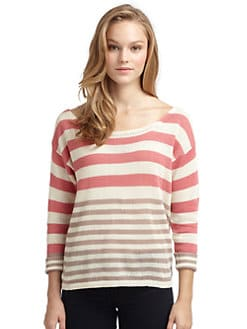 Splendid - Stripeblock Boatneck Sweater