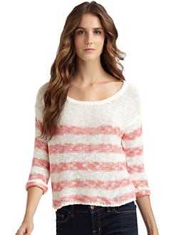 Splendid - Striped Boatneck Sweater