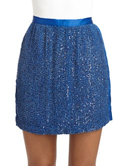 Robert Rodriguez - Sequin Front Skirt