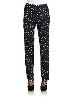 Wren - Silk Dotted Pants