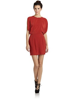 Wren - Silk Dolman Dress