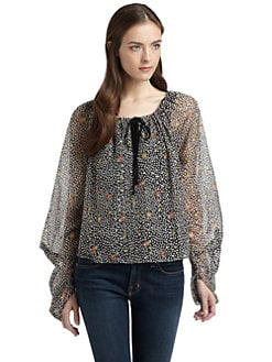PJK Patterson J. Kincaid - Nomi Peasant Top