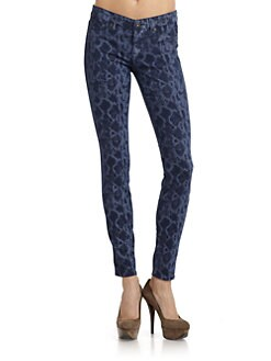 Rich and Skinny - Python-Print Skinny Jeans/Coastal