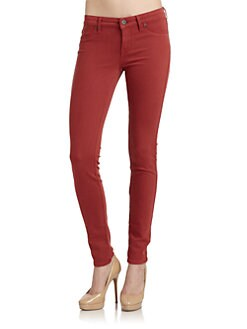 Rich and Skinny - Red Marilyn Skinny Jeans