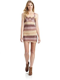 Free People - All You Ever Wanted Mini Dress/Nude