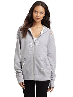Rich and Skinny - Olivia Zip-Up Hoodie