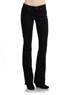 Rich and Skinny - The Wedge Bootcut Jeans Black