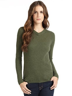 vkoo - Cashmere V-Neck Sweater