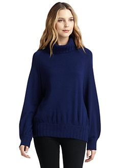 vkoo - Cashmere Dolman Turtleneck Sweater