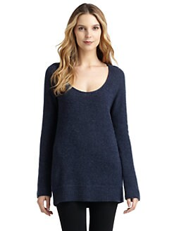 Qi New York - Cashmere Leah Scoopneck Tunic