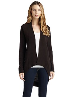 Qi New York - Chevy Cashmere Shawl-Collar Cardigan
