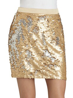 Candela - Sequined Savannah Skirt