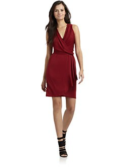 Akiko - Sleeveless Draped Jersey Dress