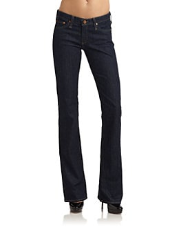 AG Adriano Goldschmied - The Angel Bootcut Jeans/Dark Blue