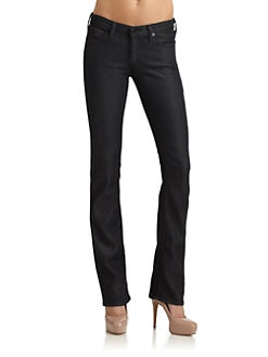 AG Adriano Goldschmied - The Ballad Slim Bootcut Jeans/Black