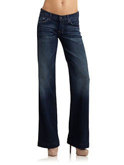 7 For All Mankind - Dojo Embellsihed Jeans/Provocar