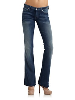 7 For All Mankind - A Pocket Flare-Leg Jeans