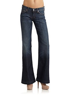 7 For All Mankind - Dojo Embellished Jeans/Brooklyn Rinse