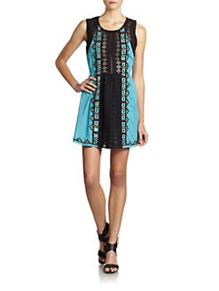 Free People - Water Lily Embroidered Dress