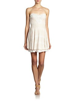 Free People - Twinkle & Twirl Strapless Dress