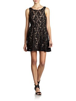 Free People - Miles of Lace Dress