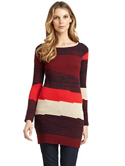 A+RO - Striped Sweater Dress