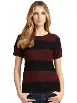 A+RO - Boucle Striped Sweater