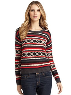 A+RO - Fair Isle Sweater