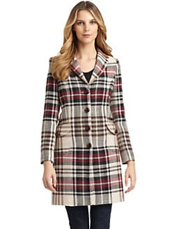 Love Moschino - Plaid Coat