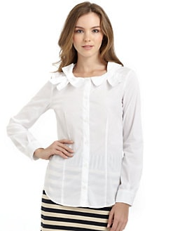 Love Moschino - Bow-Neck Blouse